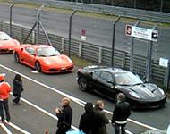 纽堡林北侧赛道入口实时画面